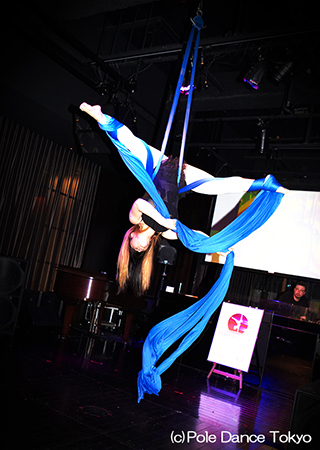 Pole Dance Tokyo エアリアルティシュー