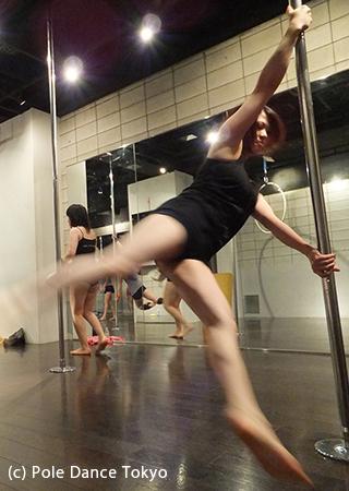 Pole Dance Tokyo スピニングポール